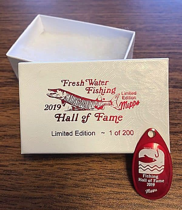 589a1dfe 2019 Collectors Pin - Freshwater Fishing Hall of Fame
