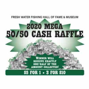(1 Ticket) 2020 MEGA 50/50 CASH RAFFLE