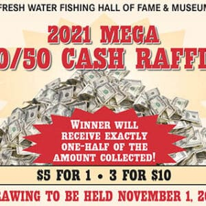 (1 Ticket) 2021 MEGA 50/50 CASH RAFFLE
